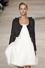 CHLOE Chloé RUNWAY Net-a-Porter Black Coat Lightweight Jacket Blazer Coat T38 4