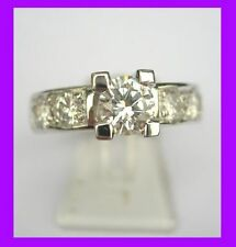 Diamant Echtschmuck-Ringe für Damen (17,5 mm Ø) von