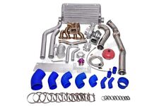 CX Turbo Manifold Downpipe Intercooler Kit For SR20DET 240Z/260Z Stock Intake