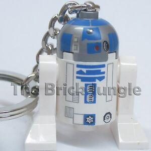 Lego Star Wars minifig R2D2 keyring keychain c3po clone  technic train city 2 3