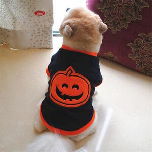 Halloween Dress Up Vest Pet Clothes Comfortable Fleece Xs-L Size Dog Clothes O3