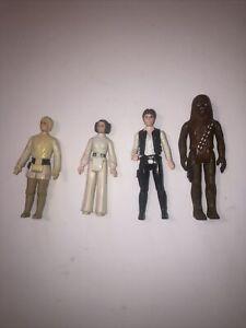 Vintage Star Wars Rebel A New Hope Figure Lot