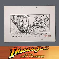 Indiana Jones & The Last Crusade, Production Used Storyboard, Indy & CircusTrain