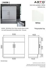 KITCHEN & LAUNDRY 930mm SINK UNITS #BL936