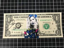 DEATH NYC billet 1 dollar signé + COA  -Banksy/fairey/cope2/seen/invader/C215