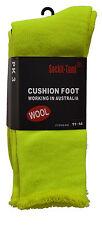 Bulk Hi-Vis Safety Boot Woollen Work Socks