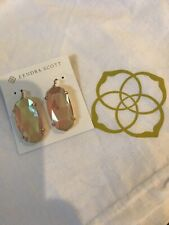 Kendra Scott RSG Esme Earrings NWT