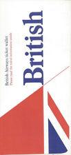 """British Airways ticket jacket wallet No """"Airways"""" [0102]"""