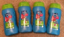 Suave Kids Strawberry 2 In 1 Smoothers Shampoo + Conditioner 12 Fl Oz (4 Pack)
