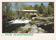 "*New Hampshire Postcard-""Waterloo Covered Bridge"" /Over Warner River/ (U2-400)"