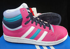 Adidas Top 10 Hi Jr Trainers In Pink/Multi Size 5.5  only 19.99 BRAND NEW
