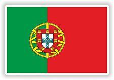 """Portugal portugues Flag Sticker Bumper Vinyl Decal 2.6""""x4"""" Portuguese adesivo"""