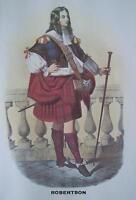 Clan Robertson - Scottish Tartan Art Print - MATTED