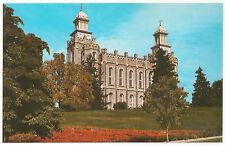 Logan Utah LDS/Mormon Temple, Eric J. Seaich, Unused/New Vintage Postcard
