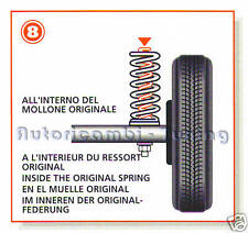 SPRINGS STABILIZER LOADING OVERLOAD FIAT UNO