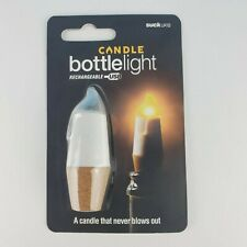 Candle Bottle Light Rechargeable Usb Wine & Spirits