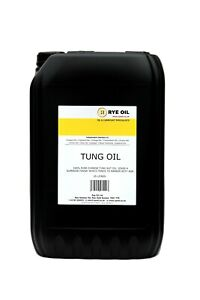 Tung Oil 10 litre 10L 100% Pure Highest Quality (2 x 5 litre 5L)