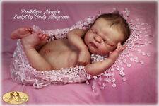 full body newborn reborn kit Maggie by Cindy Musgrove w/ internal cloth body