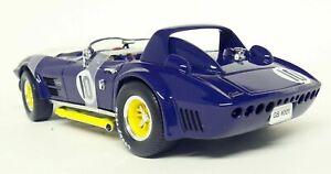 1964 CHEVROLET CORVETTE GRAND SPORT ROADSTER #10 BLUE 1/18 ROAD SIGNATURE 92697