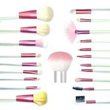 21 pcs Pink Mineral Goat Hair brushes with Kabuki makeup Set Kit