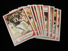 Set of 12 1984 McDonalds Ottawa Rough Riders CFL Football Cards