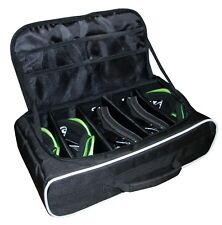 NEW MX Off-ROAD MOTOCROSS GOGGLE BAG CASE HOLDS FIVE PAIRS OF GOGGLES BLACK