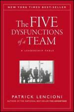 The Five Dysfunctions of a Team: A Leadership Fable - Hardcover - Good