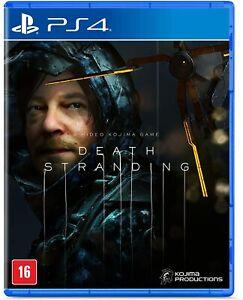 Death Stranding PS4 - Brand New - REGION FREE - Language English - Physical