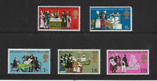 1970 GB -Anniversaries & Events - Complete Set of Five - Mint and Never Hinged.