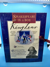 New ListingComplete Shakespeare in a Box King Lear Homeschool Theater Drama