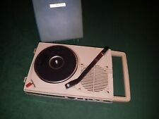 Vintage Rare RCA Victor Swim RS-1000 Portable Record Player Radio Phonograph