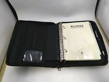Wilson Leather Pelle Studio Planner Organizer with Pen and Notepad