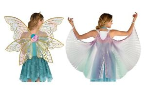 Mythical Iridescent Organza Fairy Wings Ladies Costume Accessory
