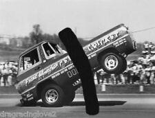 """Gemini Cricket"" Frank Monaghan Dodge Pick Up ""Wheelstander"" PHOTO!"