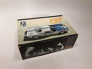 IMC FORD GT40 ORIGINAL 1/25 ADVANCED MODELERS MODEL KIT Barley Started       (1)