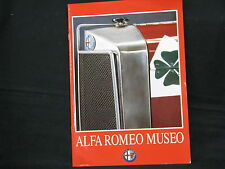 Alfa Romeo Museo, Book / Catalogue, Alfa Romeo Museo (Italian / English)
