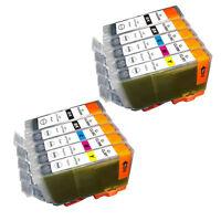 10 PK INK NON-OEM CANON PGI-5 CLI-8 IP3300 IP3500 IP4200 IP4300 IP4500 IP5200