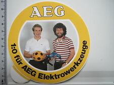 Decal Sticker AEG Power Tools Karl Heinz Rummenigge Paul Breitner (2750)