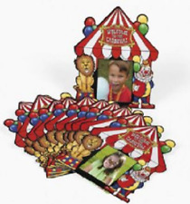 Big Top Photo Cards 12 Piece Carnival Party Favor