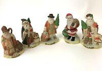 Vtg lot Santas from around the World Christmas USA Italy Russia Germany England