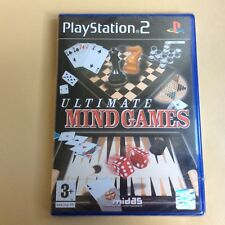 Ultimate Mindgames PS2- PlayStation 2 - NEW & SEALED