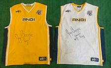 Lot Of 2 Vtg And1 Mixtape Tour 2003 Jerseys Size 2XL Signed White Jay Boogie