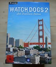 PC-Watch Dogs 2: San FRANCISCO COLLECTOR 'S EDITION-senza gioco - (NUOVO & OVP)