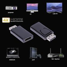 Display Port DP Mâle vers HDMI Femelle Convertisseur Adaptateur Connecteur Audio