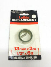 """LUFKIN RY22ME 13mm x 2m 1/2"""" x 6Ft Replacement Tape """"MADE IN CANADA"""""""