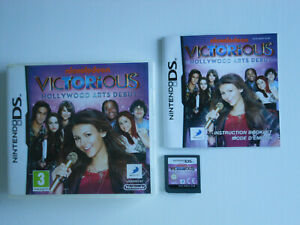 VICTORIOUS : HOLLYWOOD ARTS DEBUT  * NINTENDO DS / DS LITE / DSi .100% GENUINE