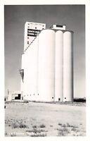 Shelby Montana~Farmers Union Terminal Assn Grain Elevator~Close Up~1950 RPPC