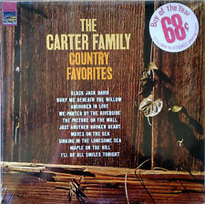 CARTER FAMILY - COUNTRY FAVORITES - SUNSET LP - STILL SEALED