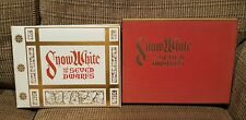 Snow White and the Seven Dwarfs Limited Edition Book With Four Serigraphs