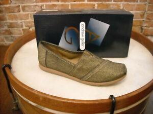 Andrew Geller Cerry Bronze Slip On Shoe NEW